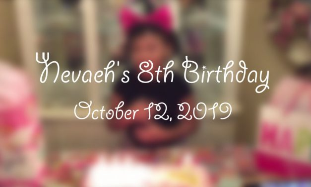 Nevaeh's 8th Birthday